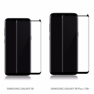 3D Curved Tempered glass For samsung galaxy s8 glass screen protector