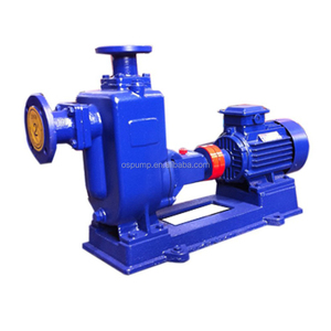 diesel or motor drive self priming sewage water pump