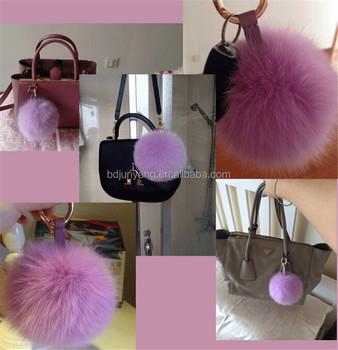 Rabbit Fur Balls bag Making Accessories fur Bag Charm - Buy Fur Bag ... a776988dc3877