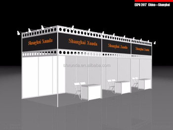 Portable Island 6x6m Trade Show Booth - Buy Portable Island 6x6m Trade Show  Booth,Portable Aluminum Truss Standard Shell Scheme,Exhibition Stand 3x3