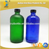 500ml Cheap and Popular Colorful Glass Boston Bottle with Bakelite Cap