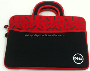 "13""-13.3"" stylish neoprene and soft fabric lining tote laptop case/bag for macbook/ultrabook"