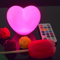 JEEJA Christmas Heart Shaped Led decoration Light for valentine's day