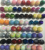 Sequin balls trims different colors customized size balls trims decoration balls Christmas ball