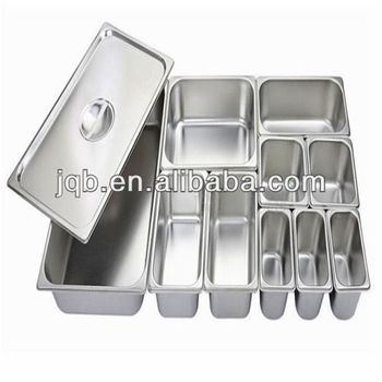Wholesale High Quality Different Size Stainless Steel Food Container