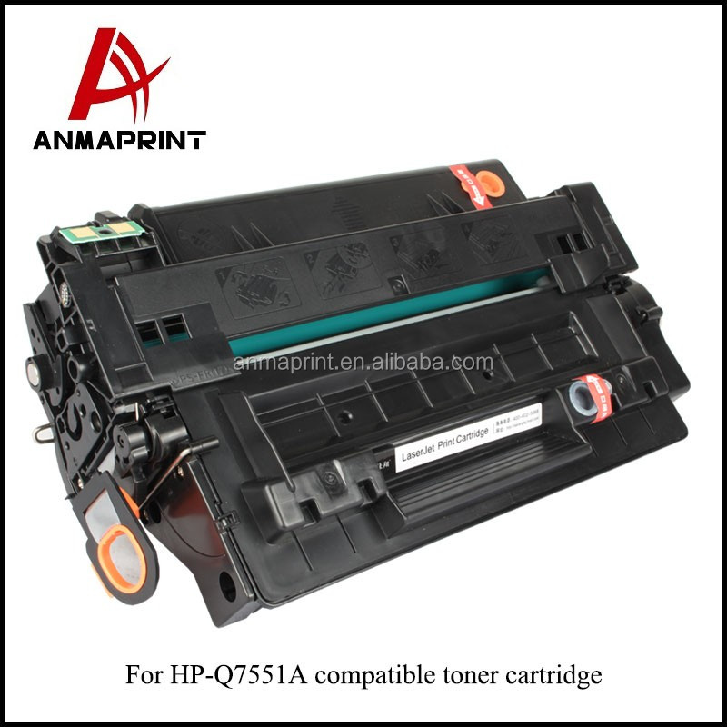 2017 NEW! Q7551A toner cartridge for HP LaserJet M3035 MFP/P3005/M3027 MFP compatible 51A laser toner cartridge