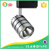 wholesale cheap commercial 3 phase high lumens COB adjustable dimmable gallery stainless steel 10w led track light