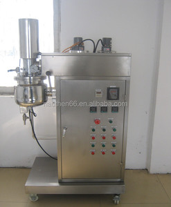 facial cream making machine ZJR- 5/10 lift type emulsifying mixer for lab or small batch