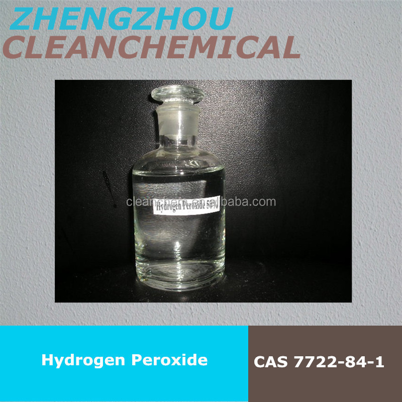 Hydrogen peroxide used for mineral