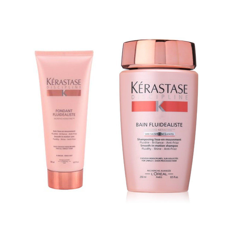 Bundle - 2 items: Kerastase Fluidealiste Shampoo, 8.5 oz & Fluidealiste Conditioner, 6.8 oz