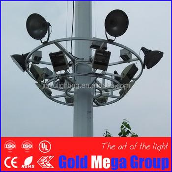 High Mast Lighting Steel Poles &towerportable Solar Light Tower ...