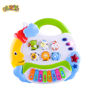Cartoon Keyboard Battery Operated Musical Toy animal piano