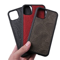 Miroos 2019 Hot selling New arrival luxury quality designer genuine python leather skin phone cover for iphone 11 case