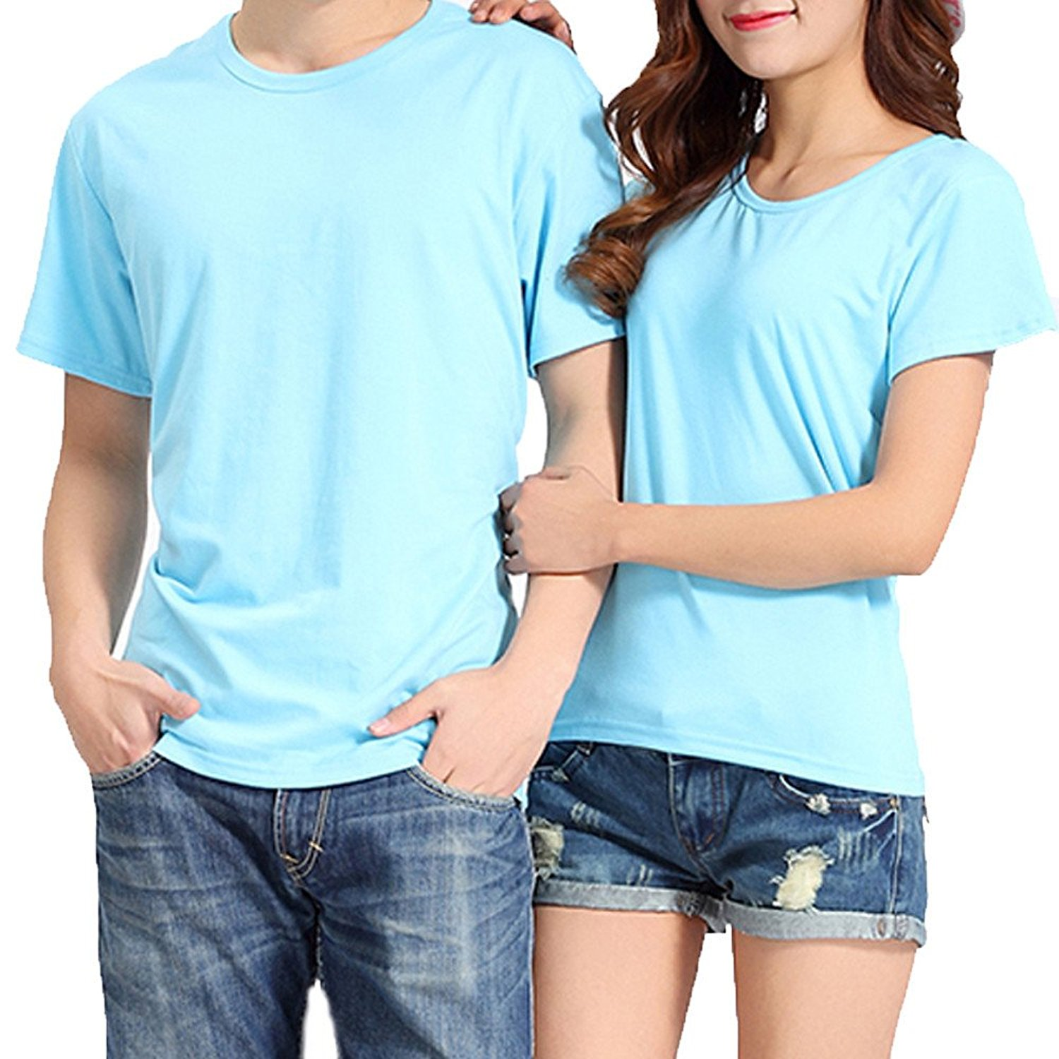 c3c68b90 Get Quotations · Jinjin Hot Sales!Womens Blouse, Matching Couple T Shirts  Blouse Summer Pure T-