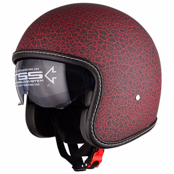 China ECE,DOT approved cruiser 3/4 vintage open face motorcycle helmet