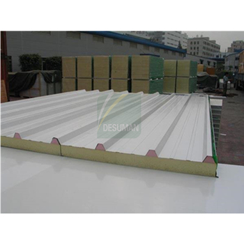75mm PU Sandwich Panel For Roof Panel Of Prefab House PU Sandwich Roofing Made In China