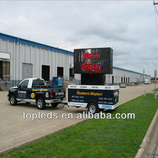 Professional manufaturer outdoor Mobile Truck LED display