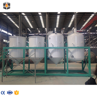 5-10 TPD Crude vegetable oil deodorizer /palm oil refinery machine/oil mill machinery prices batch edible oil refinery