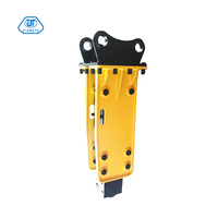 Road Construction Equipment Hydraulic Rock Breaker With Two Chisels