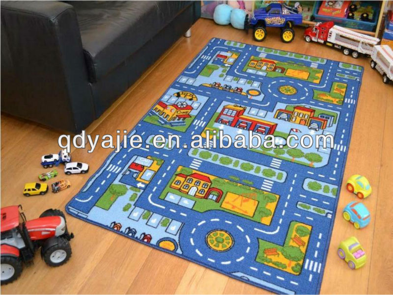 Kids Foam Street Road Play Mat