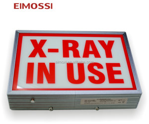 high quality x-ray in use led warning sign