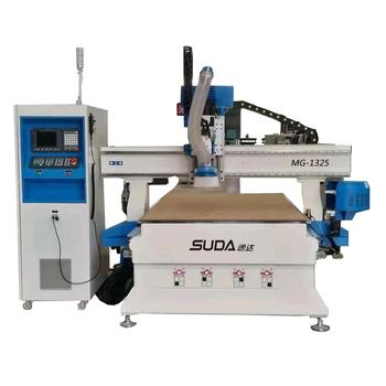 SUDA MG1325A 3 AXIS WOOD CUTTING MACHINE IN FURNITURE
