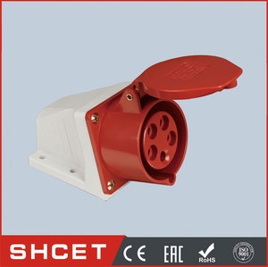 CET-125 tplug socket coupling 16a 32a 63a industrial plug and socket