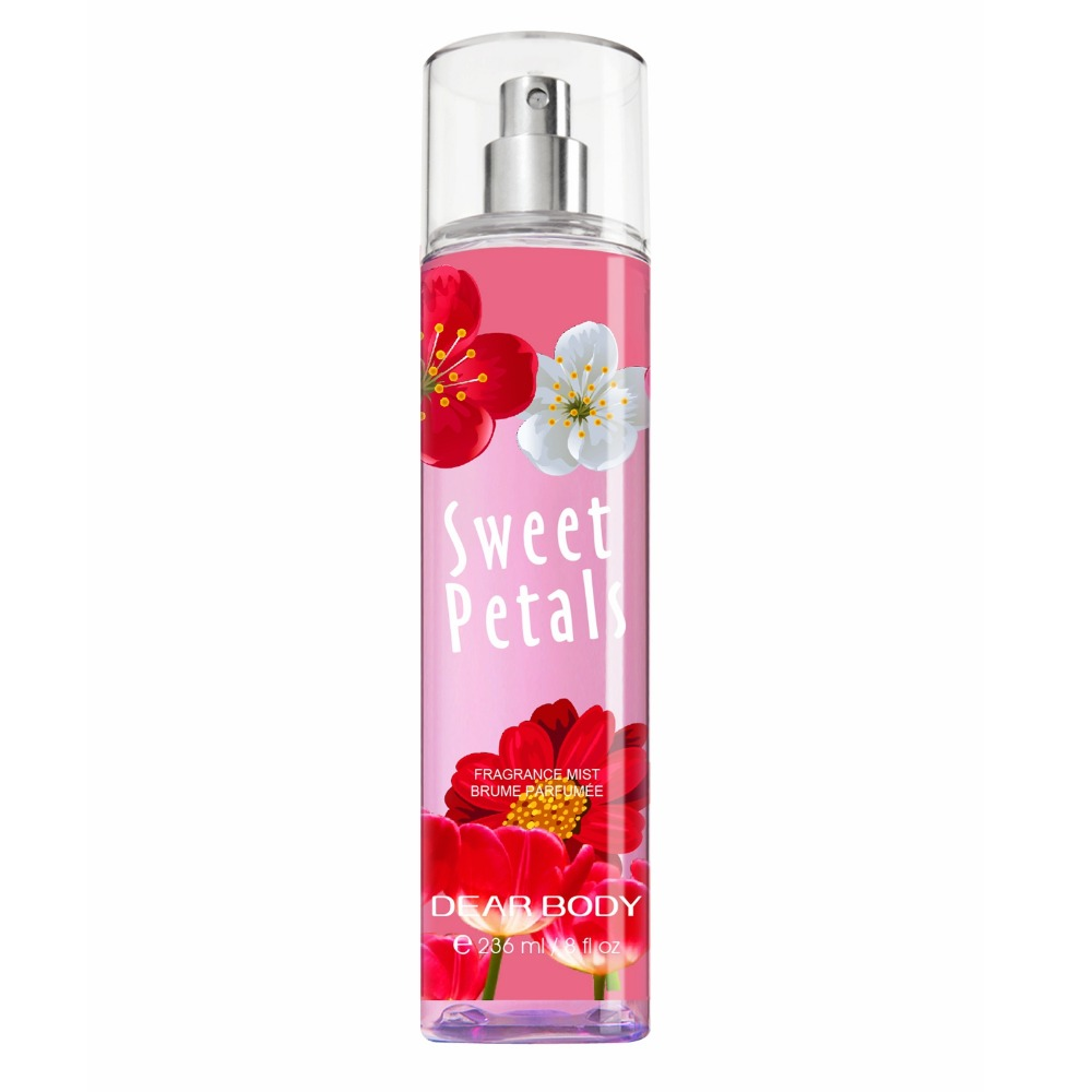 Natural fresh scent parfum Deodorant Feature sexy body spray for men and women