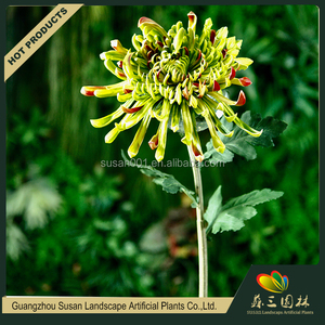 China factory wholesale name of chrysanthemum decorative artificial flower for cemetery