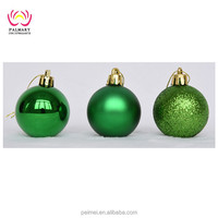 Shiny/Matte/Glitter ball Christmas Ornaments for decor, X-mas tree Hanging buy at best prices