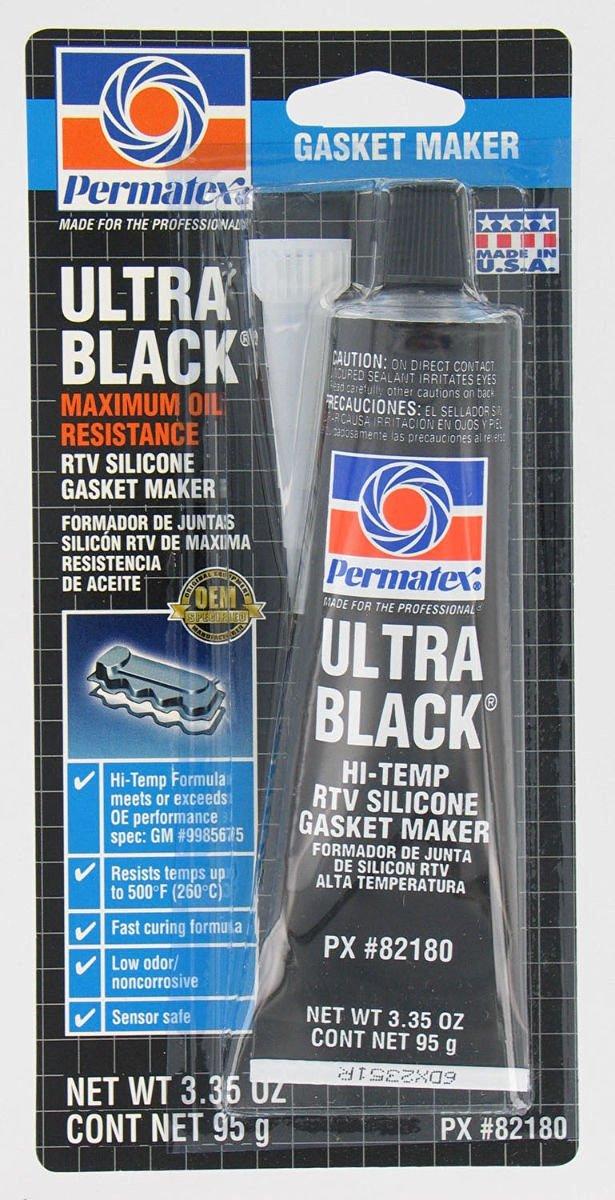 Buy Permatex 82180 Ultra Black Max Oil Resistance Rtv Silicone