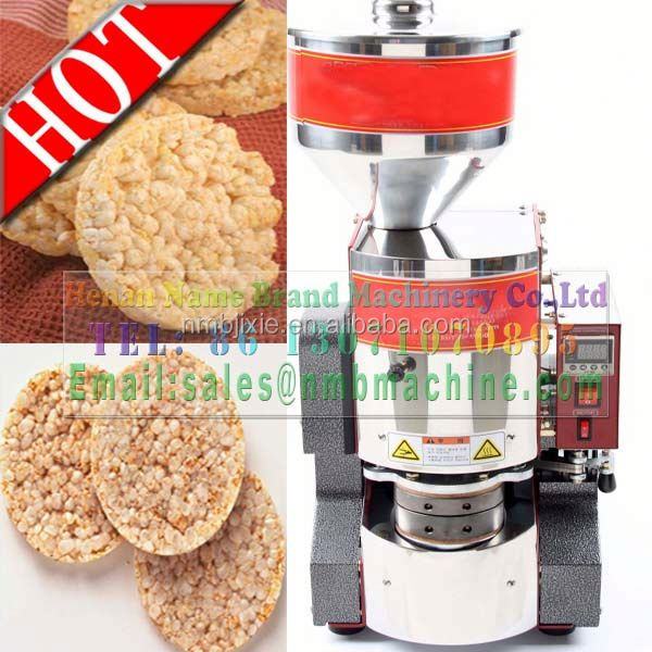 CE approved high quality puffed rice cake machine