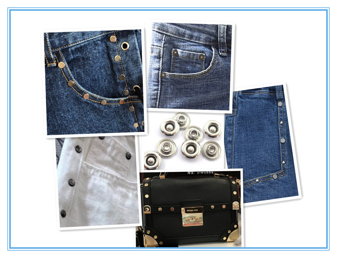 Factory wholesale metal copper rivets jeans