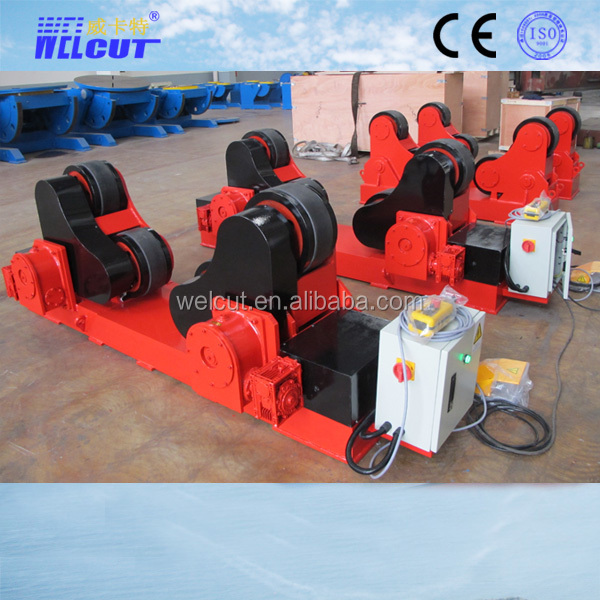 5t load capacity Polyurethane wheels tank Turning Roller