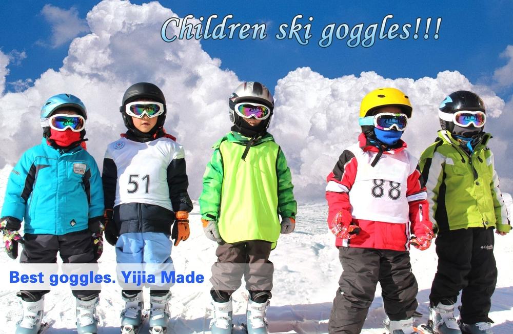2bc95088f4 New Model Water Transfer Kid Ski Goggles Cheap Price Anti-fog Kid ...