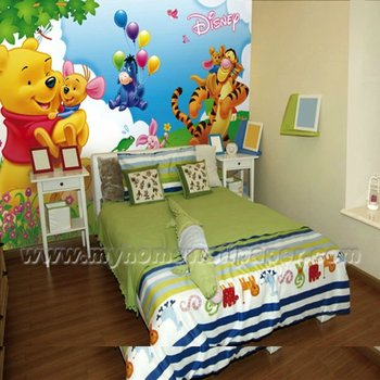 Animal Cartoons Wall Murals For Kids Room D1 00137