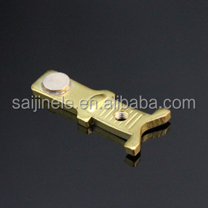 Electrical Riveting Stamping Contact Components/ Welding Stamping Parts