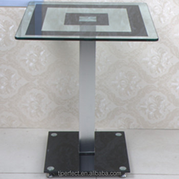 Perfect Modern Cheap Design Tempered Acrylic Glass Top Tea /Coffee Table  With No Legs
