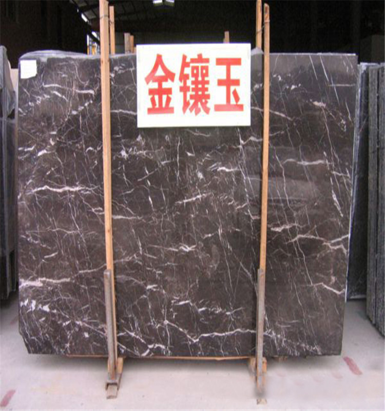 Quality certification nero marqiua marble High polished surface finishing taurus black marble price
