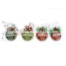 Wholesale decorative handicraft christmas Gift metal bells