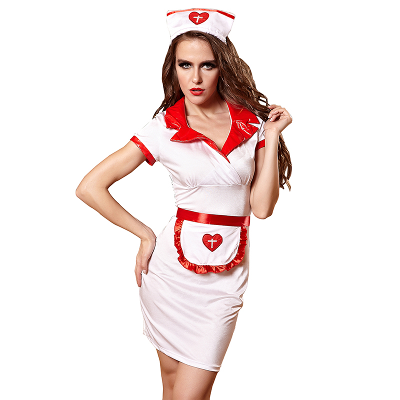 uniform Busty nurse