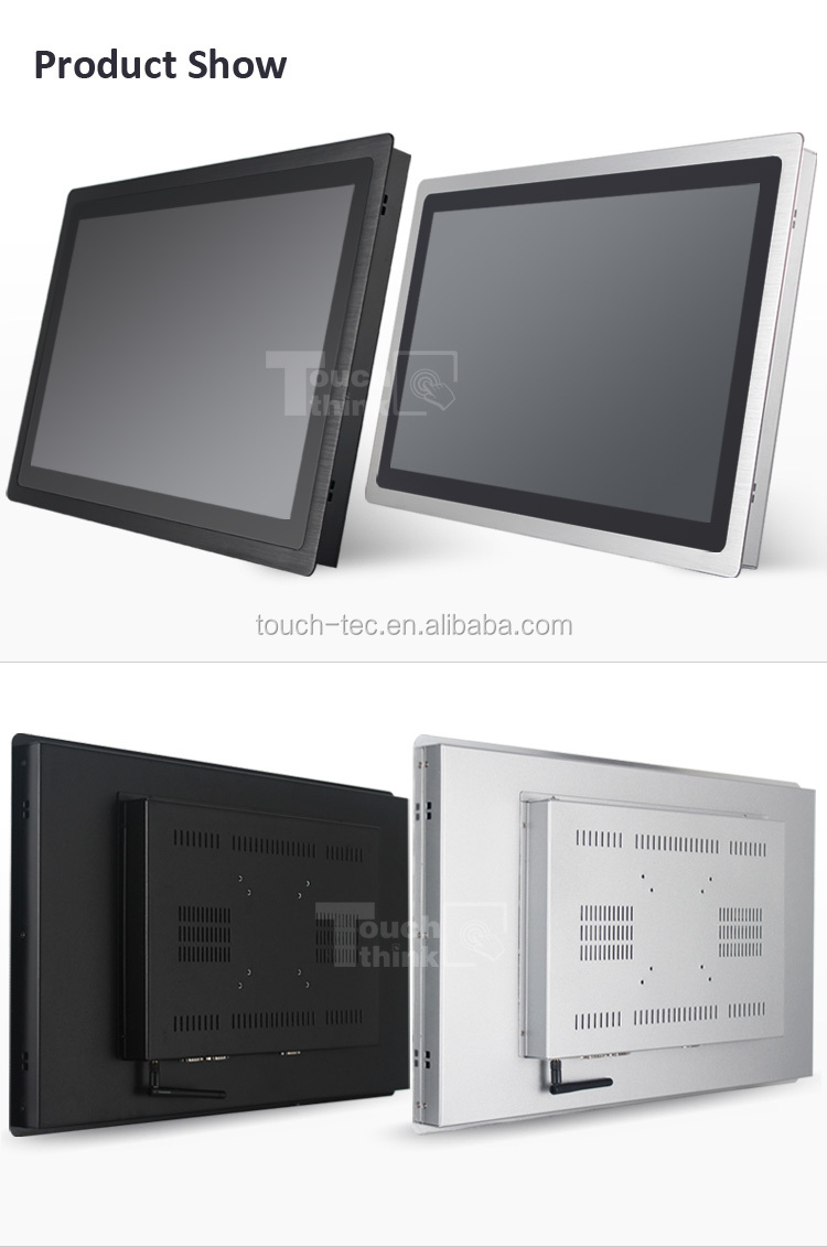 Industrial Panel PC Support win 7 /8 / 10 or Linux system 12.1 inch IP65 grade touch screen pc all in one industrial pc