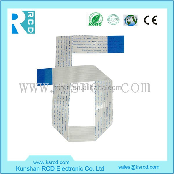 Custom High Quality 5 Pin Flat Ribbon Cable/FFC Flexible Flat Cable
