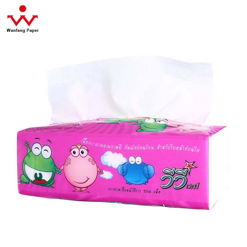 Premium Fine Quality 2ply Silky Facial Tissue