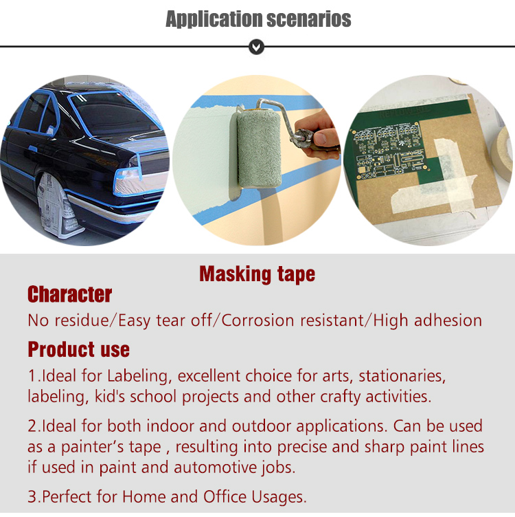 Masking tape automotive green