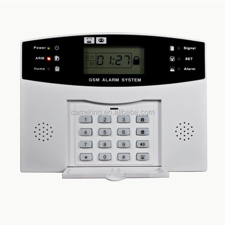 99 wireless zones pstn gsm alarm system home burglar security fire.