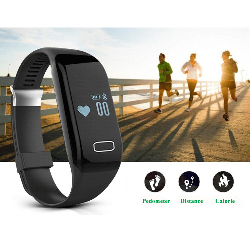 Factory OEM/ODM Smart Bracelet with Dynamic Heart Rate Monitor