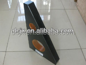 Workpiece inspection base level granite straight ruler in China
