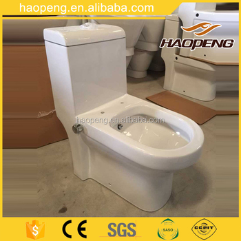 Muslim S-trap 250mm 4 Inch Washdown One Piece Toilet With Built-in on