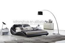 JY336 European home furniture modern leder bett